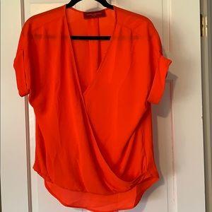Akira neon orange top